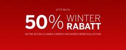 15% und Versandkostenfrei Gutschein + 50% Winter-Sale @Schiesser