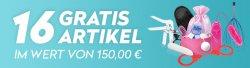 16 Gratisartikel im Wert von 150€ zu jeder Bestellung bei Eis.de nur 5,95€ Versandkosten