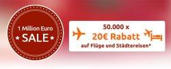 20€ Gutschein auf Flüge und Städtereisen @Opodo