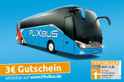 3 € Gutschein für MEINFERNBUS oder FLIXBUS ( ISIC Karte wird benötigt ) @ISIC