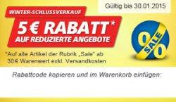 5 € Rabatt auf reduzierte Angebote bei REAL.de mit 30 € Mindestbestellwert