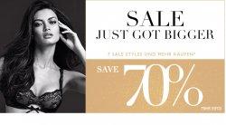 7 Sale Styles Artikel kaufen ( oder mehr ) und ein Rabatt in Höhe von 70 % bekommen @ Intimissimi
