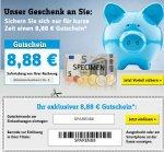 8,88€ Gutschein mit ein MBW von 50€ @Conrad