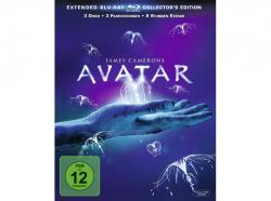 Avatar – Extended Collector´s Edition: 3 Blu-rays mit Fanbuch für 12,99 € (47,98 € Idealo) @Saturn