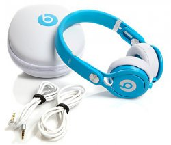 beats by dr. dre Mixr (neon blau) – On-Ear-Kopfhörer für 119,90 € (191,21 € Idealo) @Notebooksbilliger