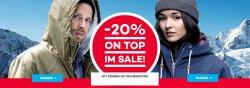 Bis zu 80% Rabatt im Winter-Sale + 20% Extra-Rabatt Gutschein @Planet Sports
