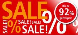 Bis zu 92% Rabatt im Sale bei Weltbild z.B. Hamax Lillehammer Maxi Schlitten für 39.99 € (74,10 € Idealo)