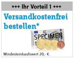 Conrad-Gutschein: Versandkostenfrei ab 20 € + Stirnlampe ab 50 €