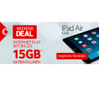 D2-Netz: Vodafone Internetflat 6GB oder 15GB + [B-Ware] Apple iPad Air 32GB LTE ab 18,99€ mtl @Modeo