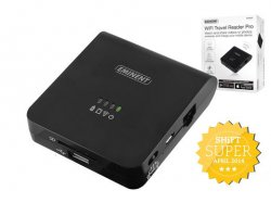 Eminent Wi-Fi-Travel-Reader Pro – EM4620 für 19,95 €  zzgl. 5,95 € Versand (88,95 € Idealo) @iBOOD Extra