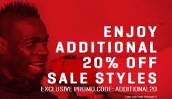 End of Seasons Sale bei Puma mit 50 Prozent Rabatt + 20 Prozent Rabatt Gutscheincode