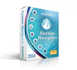 Exeone System Navigator 2014 kostenlos statt  $ 34,95 Single Licence für Windows