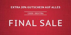 Final Sale bei Hoodboyz: 80 Prozent Rabatt + 20 Prozent Extra Rabatt auf alles (auch Sale Artikel) mit Gutscheincode