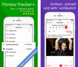 Fitness-Tracker+ kostenlos statt 19,99 € für iOS @ iTunes