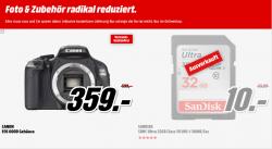 Foto & Zubehör radikal reduziert bei Media Markt z.b. CANON IXUS 155 rot für 79 € inkl. Versand [ Idealo 88,95 € ]