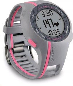 Garmin GPS Laufuhr Forerunner 110 W – GPS Trainingscomputer inkl. Brustgurt für 99,00 € (139,90 € Idealo) @Amazon
