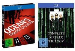 Günstig bei real: Die Ocean´s oder Matrix Trilogie auf Blu-ray für je 14,99€ + versandkostenfrei Gutschein @real.de