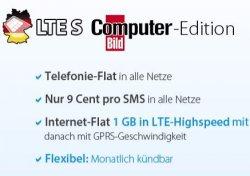 Günstiger Tarif passend zum Lumia Phone Deal :): DeutschlandSIM S Allnet Flat mit 1GB Daten (LTE) nur 12,95€ im Monat