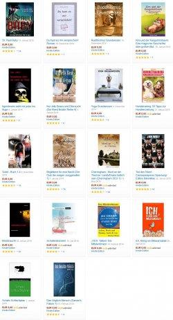 Heute 18 neue Top-Gratis-eBooks. zB. der romantische Fantasy-Endzeitroman VIOLET –  4,5 Sterne +J.R.R. Tolkien: Der Mittelerdmann
