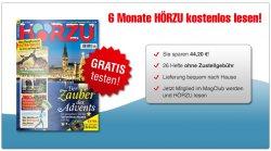 HÖRZU 6 Monate kostenlos testen statt 44,20 € @Magclub.de