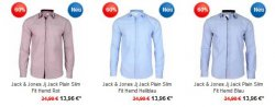 Hoodboyz Fashion Sale mit 80% Rabatt + Gutscheine z.B. Jack & Jones Herren Business Hemden ab 13,90 € [ Idealo 59,95 € ]