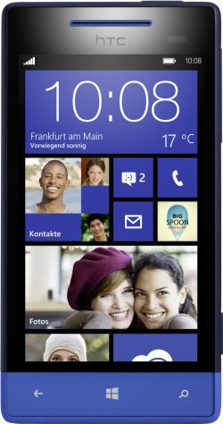 HTC Windows Phone 8S 10,2 cm (4 Zoll) Smartphone für 99,99 € (229,15 € Idealo) @eBay