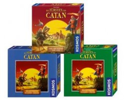 """Kosmos """"Die Fürsten von Catan"""" + 2 Erweiterungen für 20,94€ @Amazon (nicht PrimeKunden +3€ Versand) (idealo: ~42€)"""