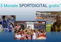 Kostenlos. 3 Monate Sportdigital & Sky Sport für 1 Monat für Sky Sat Kunden ( Abo endet automatisch ) @Sky.de