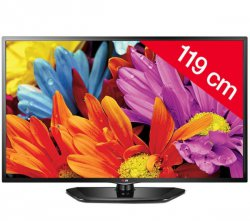 LG 47LN5400 47 Zoll (119 cm) LED Fernseher für 359,99€  [idealo 440,98€] @Pixmania