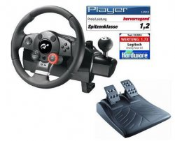 Logitech Driving Force GT – FFB Rad- und Pedalsatz für 88€ @Amazon (Idealo: 112,66€)