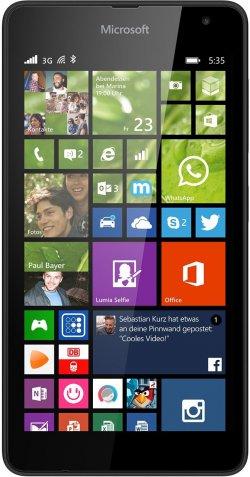 Microsoft Lumia 535 12,7 cm (5 Zoll) Windows Phone (2 Farben) für 79 € (114,16 € Idealo) @Saturn