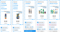 Neue For-me-Online Coupons, z.B. Gillette Rasiegel 2 in 1 / 3 € Rabatt & Gillette Rasierer 5 € Rabatt