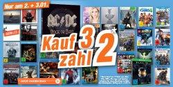 Neujahrsangebot (Lokal) Kauf 3 zahl 2 (Filme, Spiele und Musik) @expert nur heute und morgen