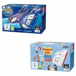 Nintendo 2DS inklusive Pokemon Alpha Saphir oder mit Tomodachi Life für je 99,90€ inkl. Versand @ebay