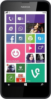 Nokia Lumia 635 11,4 cm (4,5 Zoll) Windows Phone für 111,00 € (142,50 € Idealo) @Notebooksbilliger