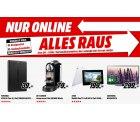 Nur Online Alles muss raus Aktion @ MediaMarkt z.b. LG G3 32GB für 299€ [idealo 399€]