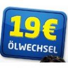 Ölwechsel inkl. Filter und bis zu 4l Öl für 19€ ( Gutschein ist gültig 31.12.2015 ) @Euromaster