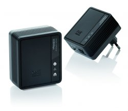 One for All SV 2020 500Mbit Powerline TV-Link Adapter 2er Kit schwarz für 19,90 € (52,61 € Idealo) @Cyberport
