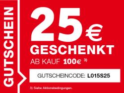 [ Online & Lokal ] XXXlshop 25 € Gutschein mit ein MBW von 100 €