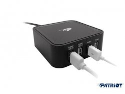 Patriot 4-Port-USB-Ladestation für 14,95 € zzgl. 5,95 € Versand (48,98 € Idealo) @iBOOD Extra