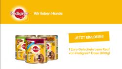 Pedigree 800g Hundefutter 1 € Gutscheincode @ Pedigree