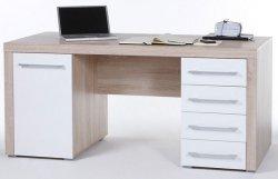 Schönes Schreibtisch-Set mit 1 Tür und 4 Schubkästen für 148,95€ mit Versand bei eBay (Preisvergleich: 218€)