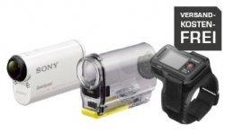 SONY HDR-AS 100 VR Action Cam mit Live-View Fernbedienung für 199 € (249 € Idealo) @Saturn