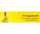 Tuifly.com; 20 € Gutschein für Newsletter Anmeldung bekommen
