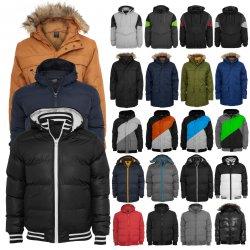 URBAN CLASSICS Winterjacken (Parkas mit Kapuze, Snowboard und Ski Anorak) für 29,90 € (59,90 € Idealo) @eBay