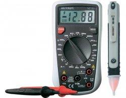 Vorteilsset VOLTCRAFT VC130 Digital-Multimeter + Spannungsprüfer MS-400 für 17€ [idealo 22€] @MeinPaket