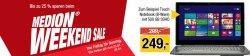 Weekend-Sale @Medion z.B. 2.1 WLAN Internet Radio mit DAB+ MEDION LIFE P85025 (MD 86955) für 99 € (119,99 € Idealo)