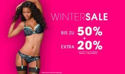 Wintersale bis zu 50% + zusätzlich 20 % Rabatt auf bereits reduzierte Dessous, Wäsche und Nachtwäsche @ Lascana