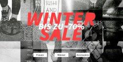 Wintersale bis zu 70 % Rabatt + 25 % Extra Rabatt auf alles bei ein Mindestbestellwert von 50 € @ Kolibrishop