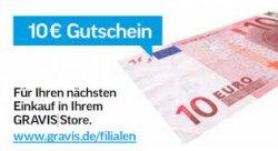 10€ Gutschein mit MBW von 50€ für Neu und Bestandskunden @Gravis
